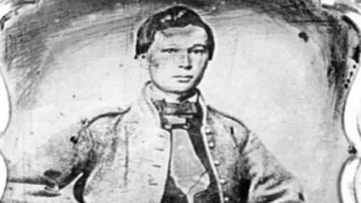 Portrait of Pvt. John White, Drummer Boy