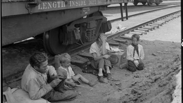 Family Who Traveled by Freight Train