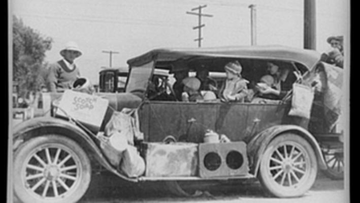 Oklahoma Dust Bowl Refugees