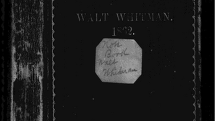 Walt Whitman Notebook # 94