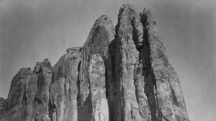 South Side of Inscription Rock, New Mexico