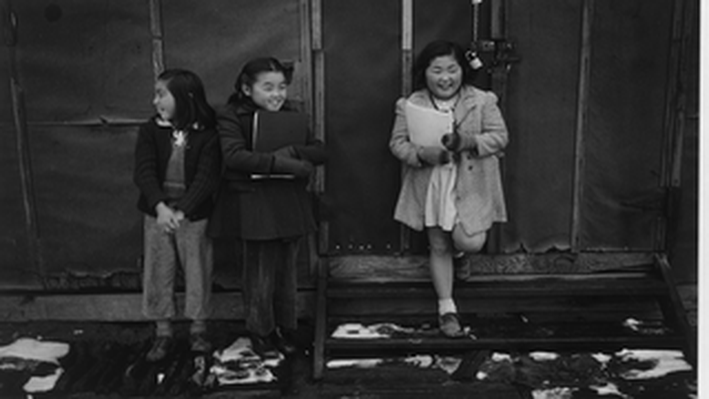 School Children at Manzanar