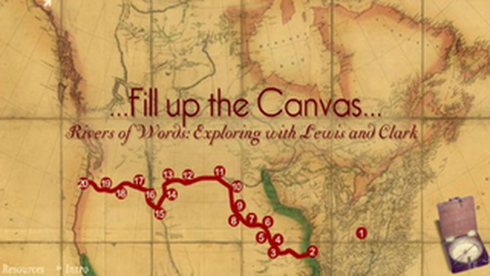 Lewis and Clark: Fill up the Canvas