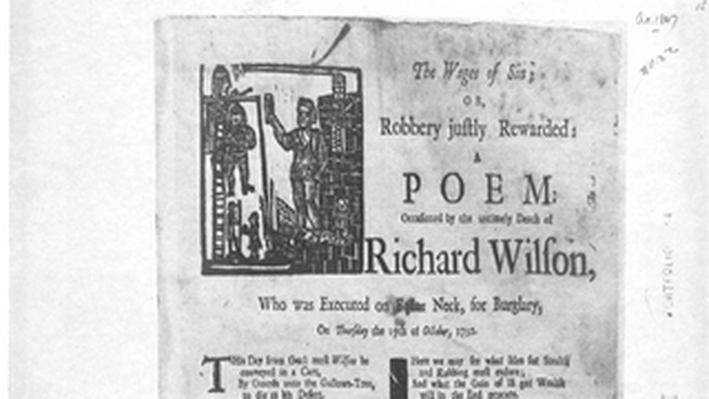 Settlement, Beginnings to 1763: The Wages of Sin; or Robbery Justly Rewarded