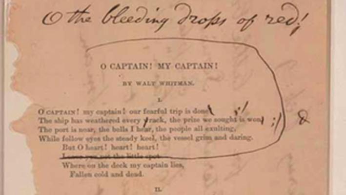 Civil War and Reconstruction, 1861-1877: O Captain! My Captain!