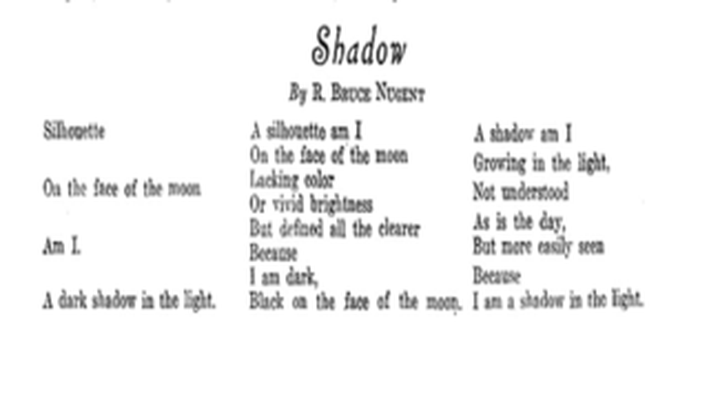 Progressive Era to New Era, 1900-1929: Shadow