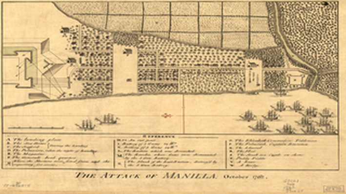 The Attack of Manilla, October 1762