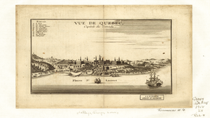View of Quebec, Capital of Canada