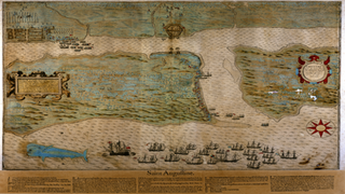 Saint Augustine Map, 1589