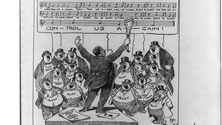 Wilson's Suggestion for a Political Cartoon