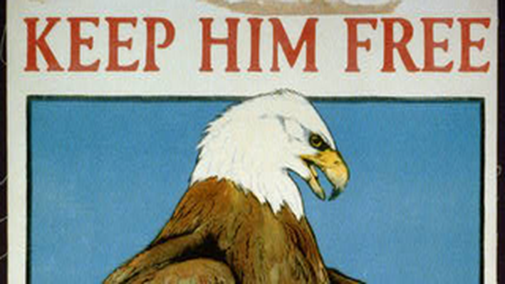 Keep Him Free: Buy War Savings Stamps