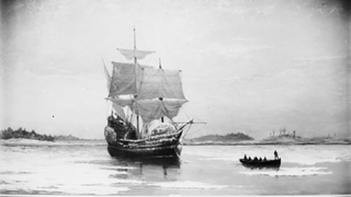The Mayflower, 1620