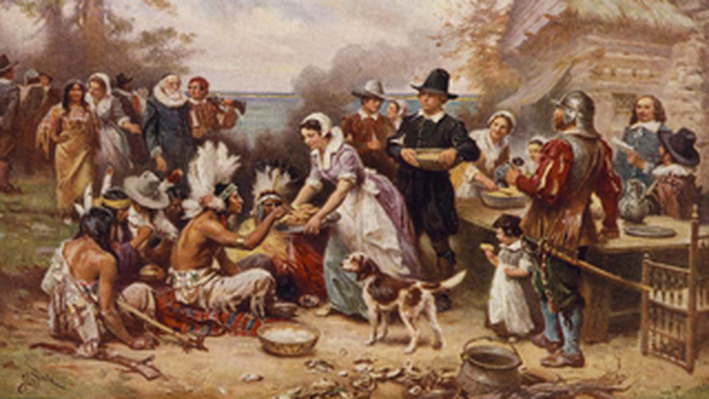 The First Thanksgiving, 1621