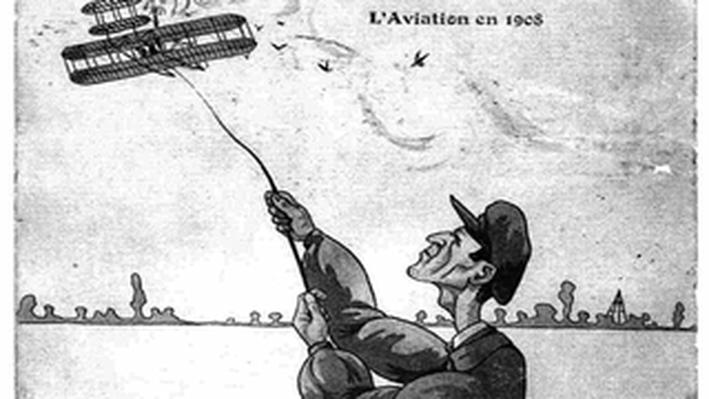 Wilbur Wright Postcard to Orville Wright