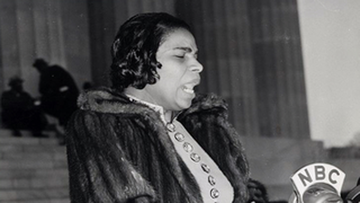 Marian Anderson at Lincoln Memorial Concert