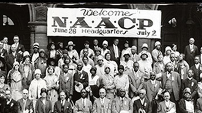 NAACP Officials Celebrating Twentieth Anniversary