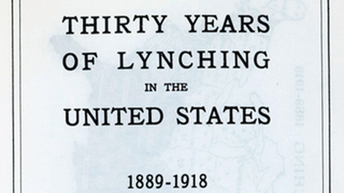 Report on Lynching in the United States