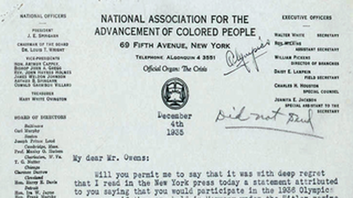 A Letter from Walter White to Eleanor Roosevelt
