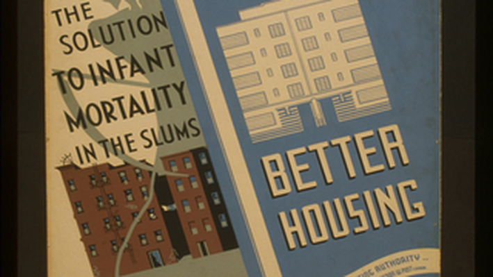Better Housing: The Solution to Infant Mortality in the Slums