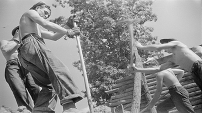 CCC (Civilian Conservation Corps) Workers: Prince George's County, Maryland