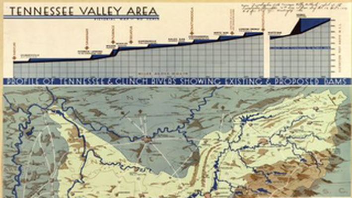 Tennessee Valley Area: Pictorial Map