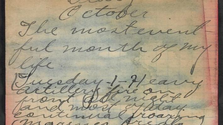 Diary of Albert John Carpenter