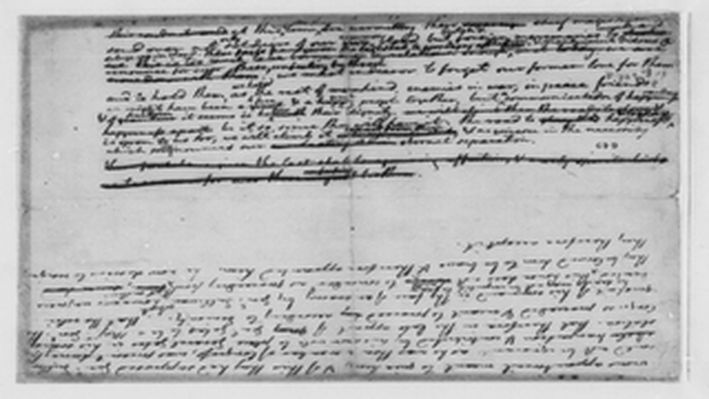 Jefferson's First Draft of the Declaration of Independence