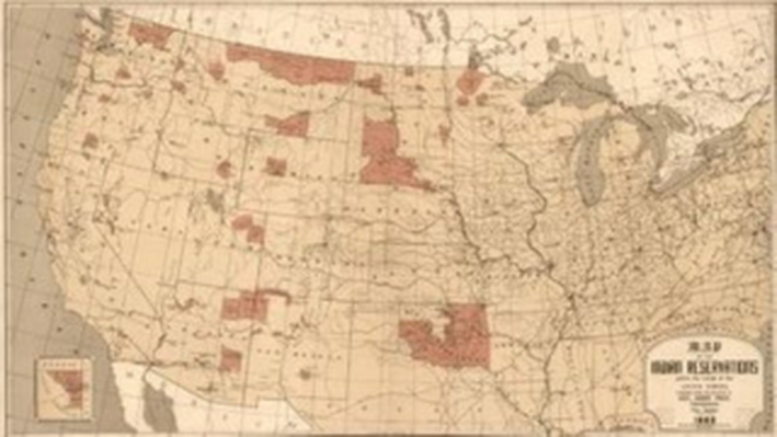U.S. Map of American Indian Reservations