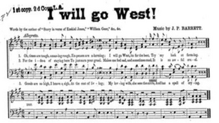 I Will Go West