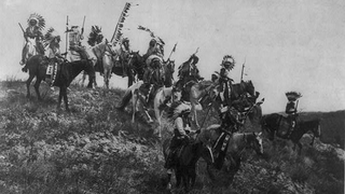 The Oglala War Party