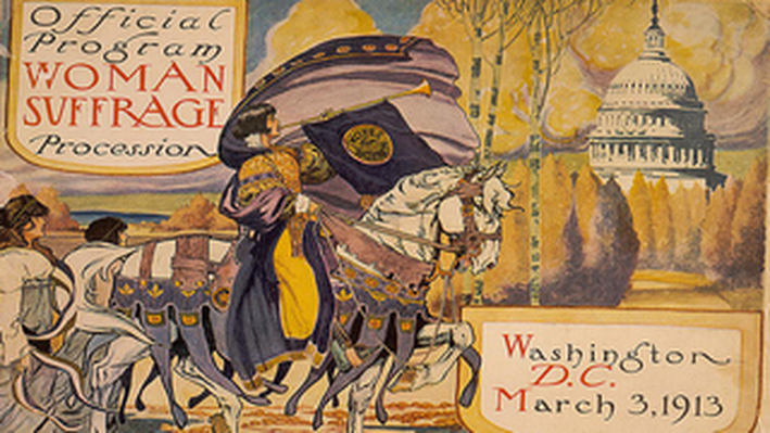 Official Program: Woman Suffrage Procession, Washington, D.C.