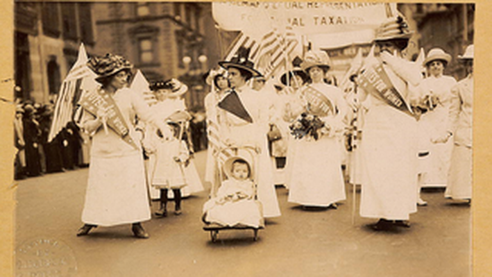 Suffrage Parade in NYC
