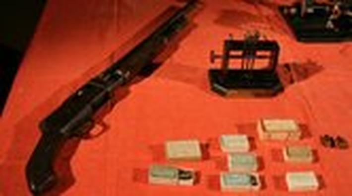 St. Valentines Day Massacre Gun