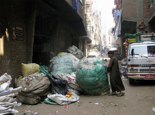 Cairo Slum an Unlikely Model for Environmental Change