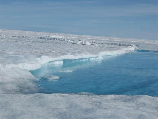 Greenland's Ice on the Move