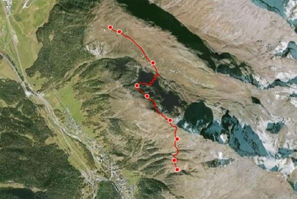 Switzerland's Climate Change Trail