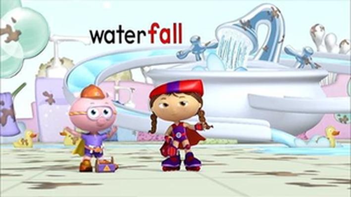 Alpha Pig & Wonder Red Spell Waterfall