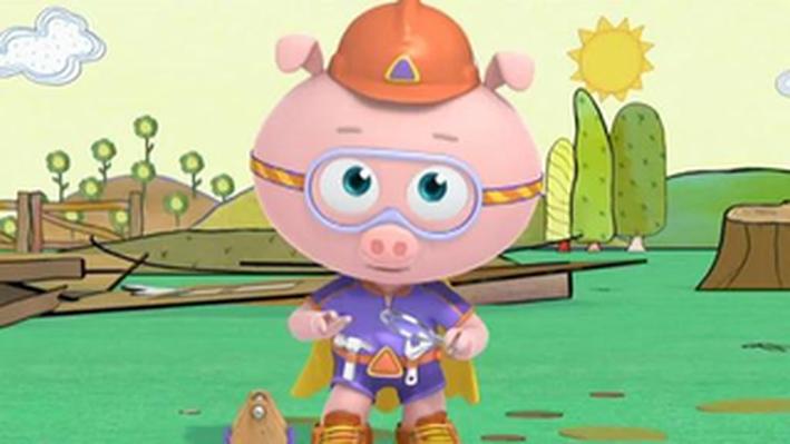 Alpha Pig Follows the Fairy Dust!