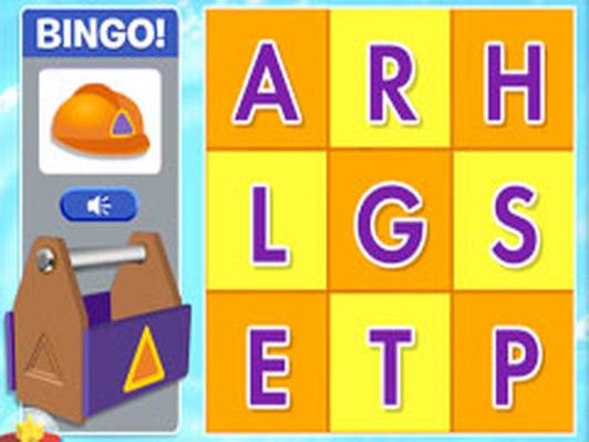 Lickety Letter Bingo
