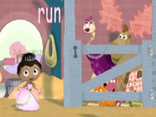 Princess Presto spells RUN