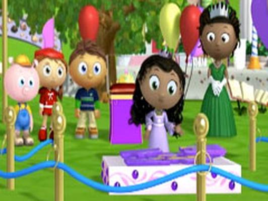 Princess Presto's Princess Test