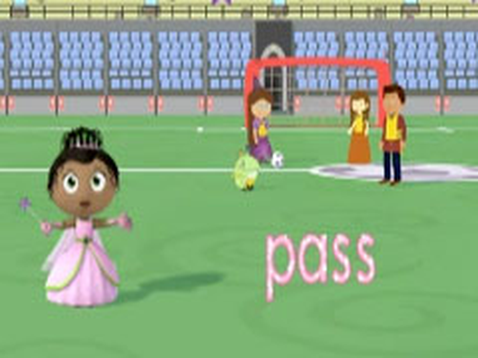 Princess Presto's Soccer Game