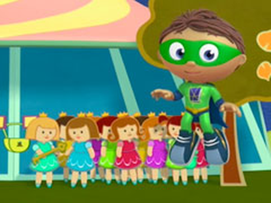 Super WHY!: The Twelve Dancing Princesses