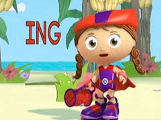 Wonder Red's –ING Word Game