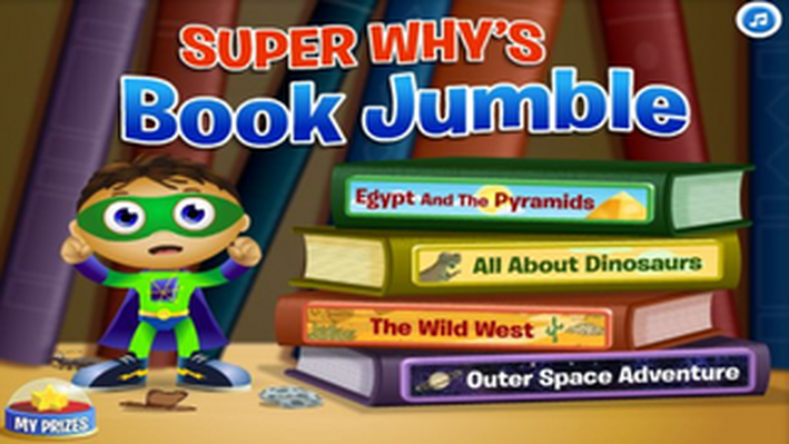 Super WHY's Book Jumble