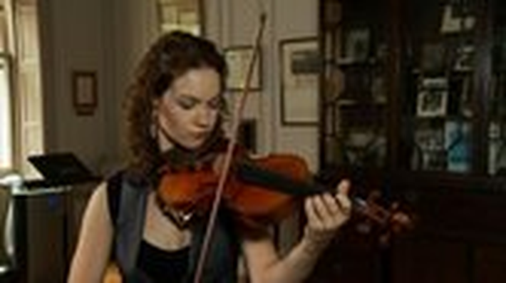 Composer and Violinist Create Modern Masterpiece Video