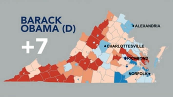 Examining the Presidential Campaign Map: Battleground Virginia