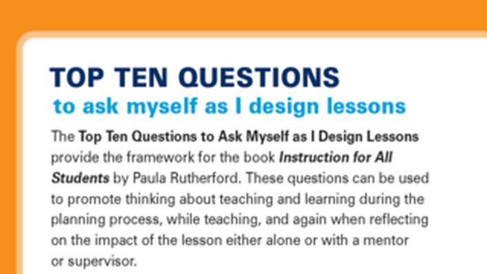 pbs teacherline tips for designing lessons