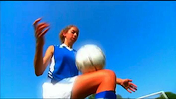 Soccer Ball Kick Video