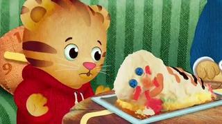 Cool The Smushed Cake Daniel Tigers Neighborhood Pbs Learningmedia Funny Birthday Cards Online Elaedamsfinfo